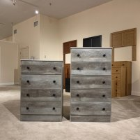 194 Grey 4 or 5 Drawer