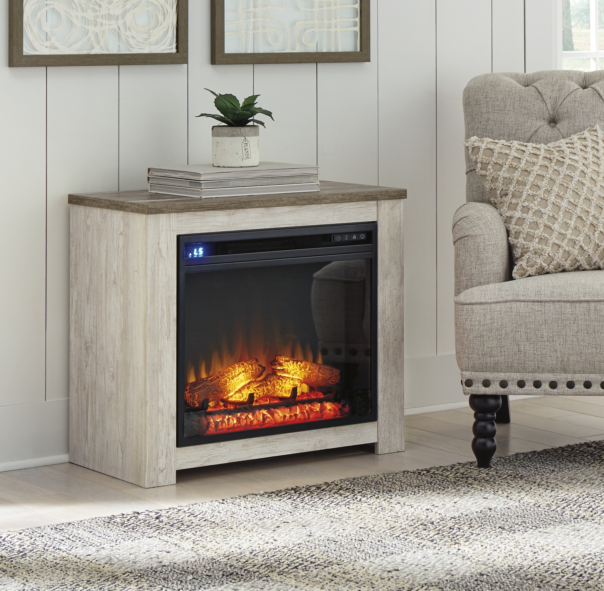 W267-368 Willowton Fireplace